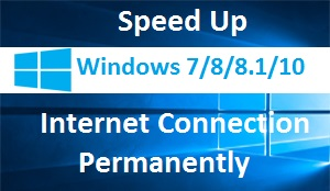 Speedup internet connection