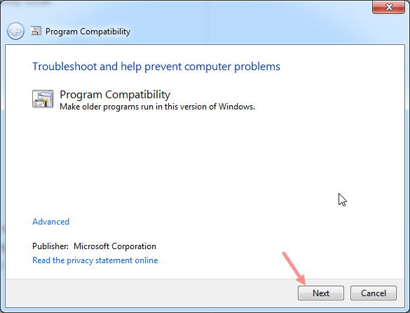 How to Run your Older Programs in Windows 7