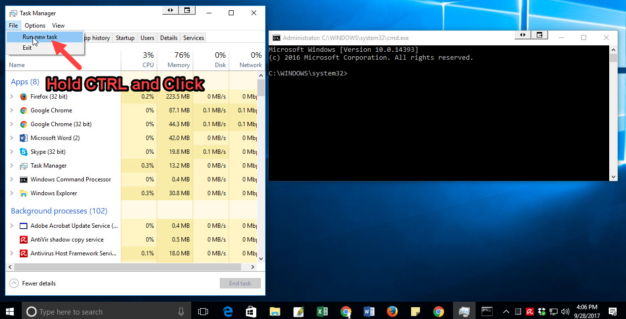 cmd commands windows 7